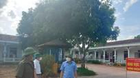 Sở Y tế kiểm tra đột xuất khu cách ly y tế ở Nghi Lộc, Diễn Châu
