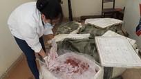 Diễn Châu bắt 2 vụ vận chuyển 550 kg sản phẩm động vật không rõ nguồn gốc  