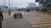Xe khách đâm vào đoàn người đưa đám ma: Số người chết đã tăng lên 7