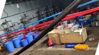 Cận cảnh hiện trường 'nhà máy sản xuất ma túy' quy mô cực lớn