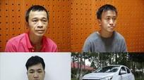 Bắt nhóm đối tượng đi ô tô dùng ống nhòm, roi điện trộm cắp tài sản liên tỉnh