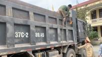 Yên Thành xử lý, cắt hạ thùng 25 xe ô tô cơi nới quá khổ
