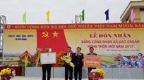 Xã Diễn Quảng (Diễn Châu) đón Bằng công nhận chuẩn nông thôn mới