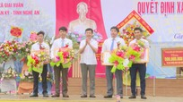 Xã Giai Xuân (Tân Kỳ) đón Bằng công nhận xã đạt chuẩn nông thôn mới
