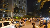 Cháy căn hộ ở Sài Gòn, hàng trăm cư dân tháo chạy
