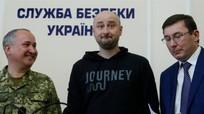 """Nhà báo Nga """"bị bắn chết"""" bất ngờ xuất hiện ở Ukraine"""