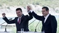 Hy Lạp và Macedonia ký thỏa thuận lịch sử đổi tên nước