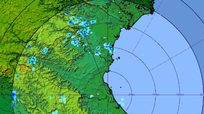 Dự báo 5 huyện ở Nghệ An sẽ có mưa rào và dông vào tối nay (6/7)