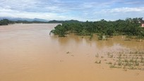 Lũ lên nhanh trên sông Cả, cảnh báo sạt lở tại hơn 60 xã của 7 huyện miền núi