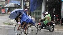 Ảnh hưởng gió mùa Đông Bắc, mưa ở Nghệ An có thể kéo dài đến 10/9