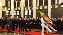 Lễ viếng nguyên Tổng Bí thư Đỗ Mười theo nghi thức Quốc tang