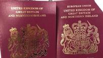 """Anh bắt đầu xóa chữ """"Liên minh châu Âu"""" trên hộ chiếu công dân"""