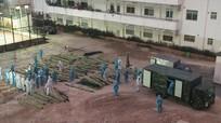 Bạch Mai xây dựng bệnh viện dã chiến trong đêm