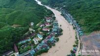 Công điện về ứng phó áp thấp và mưa lớn ở Nghệ An