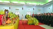 Hình ảnh lễ viếng và truy điệu 13 liệt sĩ hy sinh khi tìm kiếm cứu nạn tại Rào Trăng 3