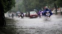 Ngập trên diện rộng, thành phố Vinh đồng loạt cho học sinh nghỉ học