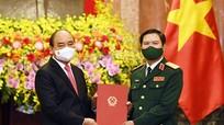 Trao quyết định bổ nhiệm Tổng tham mưu trưởng Quân đội nhân dân Việt Nam