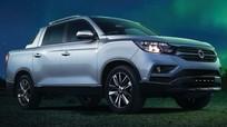 Bán tải Ssangyong Rexton Sports sắp ra mắt, đối đầu Ford Ranger