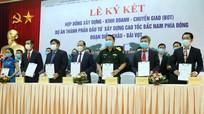 Công ty TNHH Hòa Hiệp và các đối tác sẽ thi công cao tốc Bắc-Nam đoạn qua Diễn Châu