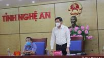 Nghệ An kiến nghị có chính sách hỗ trợ chống hạn trong sản xuất nông nghiệp