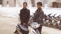 Bắt 2 đối tượng trộm cắp xe máy