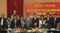 Ký kết giao ước Cụm thi đua 6 tỉnh Bắc Trung bộ