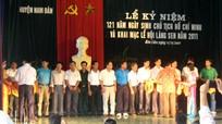 Lễ kỷ niệm 121 năm Ngày sinh Chủ tịch Hồ Chí Minh và Khai mạc Lễ hội Làng Sen năm 2011