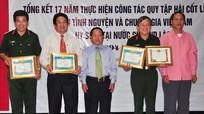 Tổng kết 17 năm thực hiện công tác quy tập hài cốt Liệt sỹ quân tình nguyện và chuyên gia Việt Nam hy sinh tại Lào