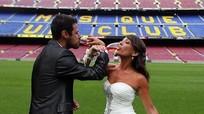 Barca biến Nou Camp thành nơi tổ chức... đám cưới