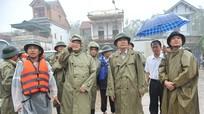Bộ trưởng Cao Đức Phát kiểm tra, chỉ đạo công tác phòng chống bão số 3 tại Quỳnh Lưu (Nghệ An)