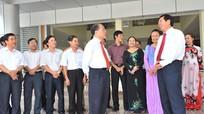 Chủ tịch Quốc hội Nguyễn Sinh Hùng thăm, làm việc với Văn phòng Đoàn đại biểu Quốc hội và HĐND tỉnh Nghệ An