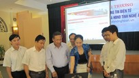 Khai trương Trang thông tin điện tử của Đoàn Đại biểu Quốc hội và HĐND tỉnh Nghệ An