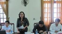 Đoàn khảo sát Ủy ban VHGD.TTN-NĐ của Quốc hội làm việc với Sở Lao động - Thương binh và Xã hội