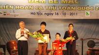 Nghệ An giành ba giải thưởng tại Liên hoan CLB Ca trù toàn quốc