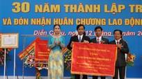 Trường THPT Diễn Châu 3: Kỷ niệm 30 năm thành lập và đón nhận Huân chương Lao động hạng Nhì