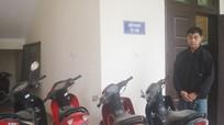 Công an Anh Sơn: Bắt vụ trộm cắp xe máy liên huyện
