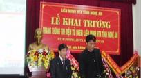 Khai trương Trang thông tin điện tử Liên minh HTX tỉnh Nghệ An