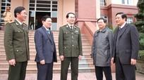 Bộ trưởng Bộ Công an Trần Đại Quang thăm và làm việc tại Công an tỉnh Nghệ An