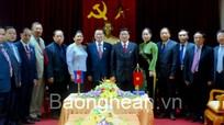 Đoàn UB Đối ngoại, Hợp tác quốc tế, TT & TT QH Vương quốc Campuchia thăm và làm việc tại Nghệ An
