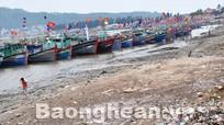 Biển Quỳnh phương ô nhiễm vì rác