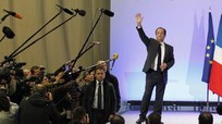 Bầu cử Pháp: Ông Francois Hollande dẫn đầu