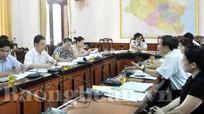 Ban VH -XH ( HĐND tỉnh) làm việc với Sở Giáo dục - Đào tạo về quy hoạch mạng lưới trường lớp