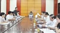 Ban Kinh tế - Ngân sách HĐND tỉnh khảo sát công tác quy hoạch tại Sở Xây dựng