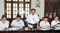 Đoàn đại biểu Quốc hội làm việc với UBND tỉnh Nghệ An