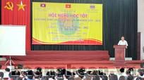 Hội nghị học tốt lưu học sinh Lào, Thái Lan