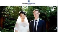 """Ông chủ Facebook """"bất ngờ"""" lấy vợ"""