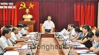 Thẩm tra báo cáo và dự thảo nghị quyết trình kỳ họp thứ 5, HĐND tỉnh khóa XVI