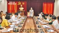 Chuẩn bị nội dung cho kỳ họp thứ 5, HĐND tỉnh