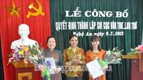 Công bố quyết định thành lập Chi cục Văn thư – Lưu trữ tỉnh Nghệ An