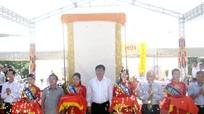 Khánh thành đài tưởng niệm liệt sỹ ngành GTVT tại Ngã ba Đồng Lộc